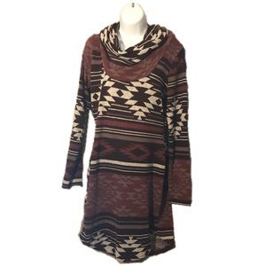 Rue21 Cowlneck Sweaterdress, Large